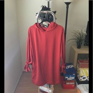Zara Long Sleeve Hooded Dress